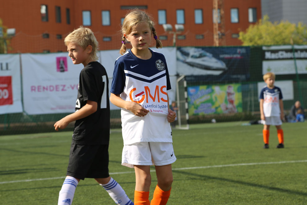 GMS Clinic на Moscow Youth Soccer League